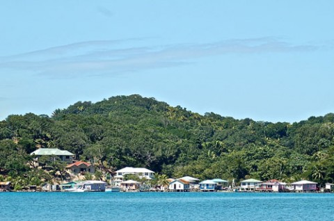 Village of Roatan Honduras