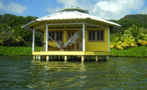Water House Roatan Honduras
