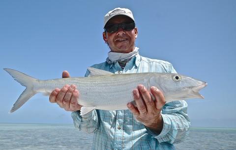 Fly Fishing Bonefish Andros Island